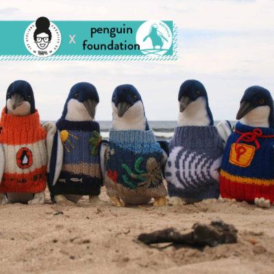 Mon premier tricot… un pull pour pingouin !