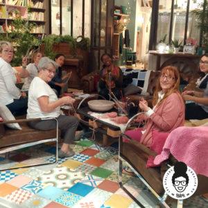 les ateliers créatifs de sarah partenariat association Tricotez-Coeur