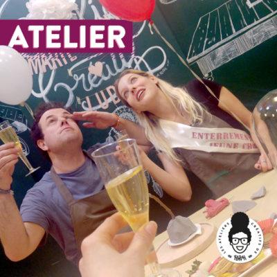 Atelier EVJF 👰 – «Porte alliances»