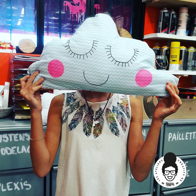 les ateliers créatifs de sarah gyver couture couture nuage Zôdio