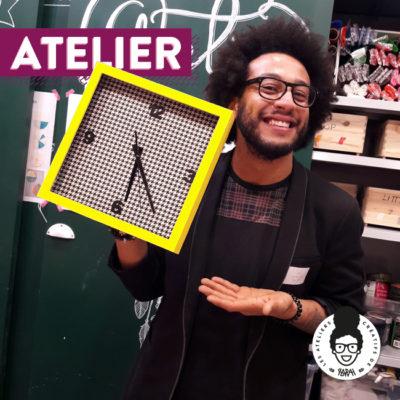 Atelier After work spécial bloggueurs – Horloge DIY