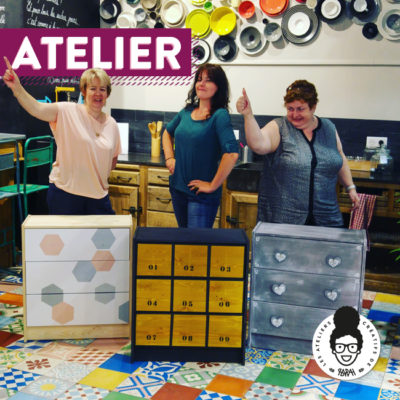 Atelier – « Customisation d'une commode »