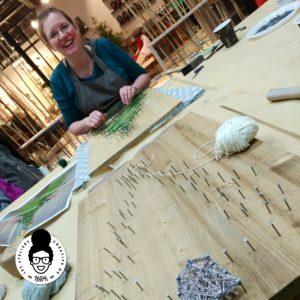 les ateliers créatifs de sarah gyver Zôdio string art