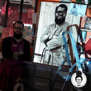 les ateliers créatifs de sarah gyver peinture sur palette Zodio