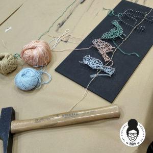 les ateliers créatifs de sarah gyver string art Zôdio