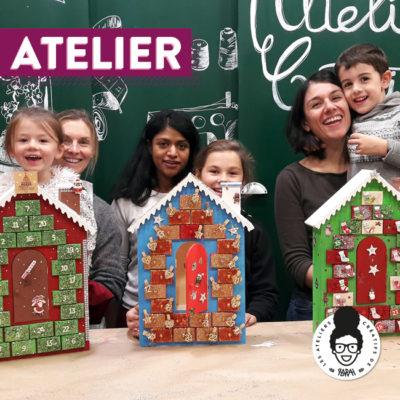Atelier Noël 🎅 – «Calendrier de l'Avent»