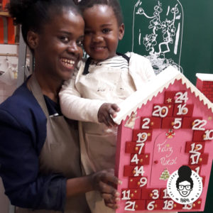 les ateliers créatifs de sarah gyver calendrier de l'avent noël diy Zôdio