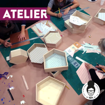 Atelier – « On customise un trio d'étagères »