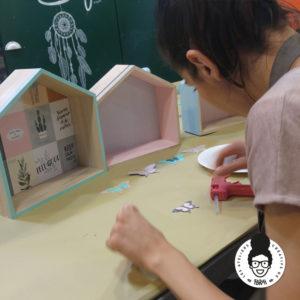 les ateliers créatifs de sarah gyver étagères diy Zôdio