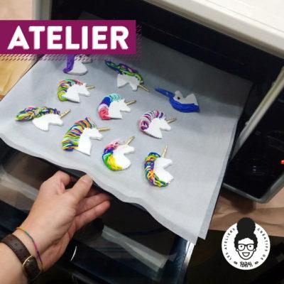 Atelier – «Modelage en pâte polymère»