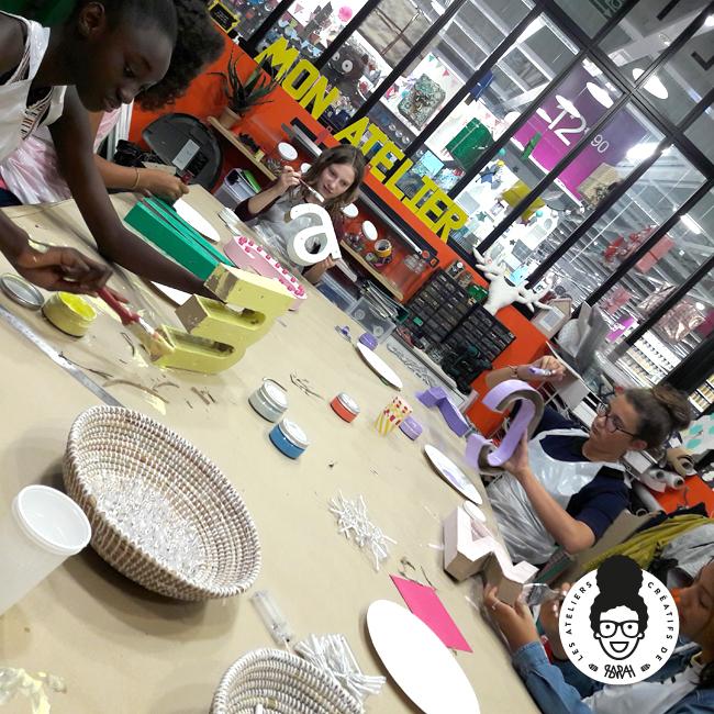 les ateliers créatifs de sarah gyver lettre lumineuse diy Zôdio