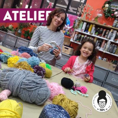 Atelier – «Pompons de laine»