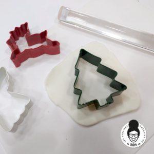 les ateliers créatifs de Sarah Gyver Zôdio couronne de noël en wepam tuto