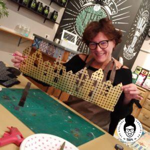 les ateliers créatifs de Sarah Gyver cloche de noël diy à Zôdio