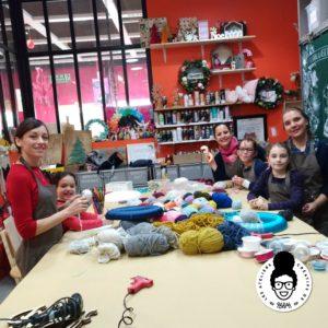 les ateliers créatifs de sarah gyver Zôdio couronne de noel