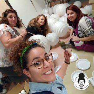 les ateliers créatifs de Sarah Gyver Zôdio Noëlisation du magasin Zôdio