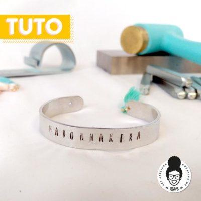 Tutoriel «Bracelet DIY martelage» (à Ze Fâbrik)