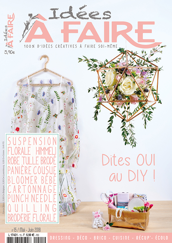 Sarah Gyver x Zôdio x Idées à Faire Magazine - Tutoriel DIY fête des parents