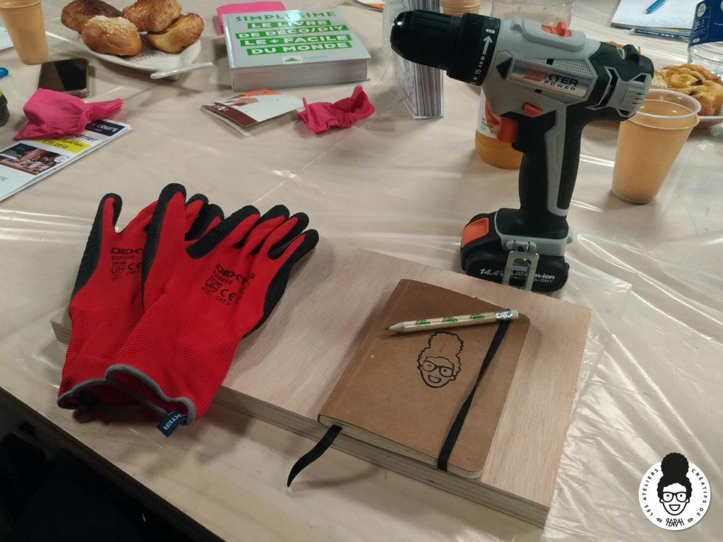 les ateliers créatifs de sarah gyver zôdio la rochelle x Le Campus Leroy Merlin