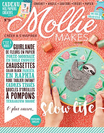les ateliers créatifs de sarah gyver zôdio la rochelle magazines DIY Mollie makes