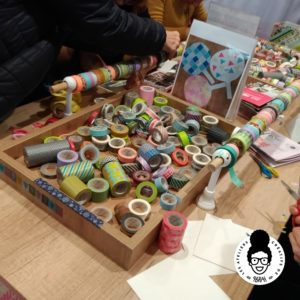 les ateliers créatifs de sarah gyver gaouaoui salon créations et savoir faire diy paris expo masking tape