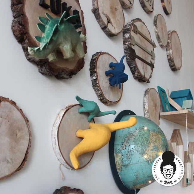 Les ateliers créatifs de Sarah Gyver Gaouaoui décoration maison Zôdio La Rochelle chambre enfant explorateur