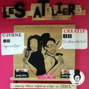 Les ateliers créatifs de Sarah Gyver Gaouaoui décoration maison Zôdio La Rochelle les ateliers