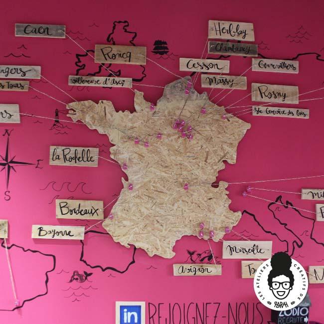 Les ateliers créatifs de Sarah Gyver Gaouaoui décoration maison Zôdio La Rochelle france