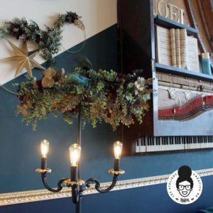 Les ateliers créatifs de Sarah Gyver Gaouaoui décoration maison Zôdio La Rochelle salon noël Gothique