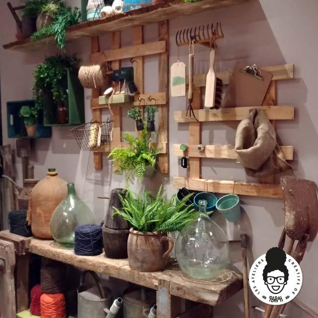 Les ateliers créatifs de Sarah Gyver Gaouaoui décoration maison Zôdio La Rochelle Entrée