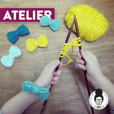 ATELIER – «initiation tricot»