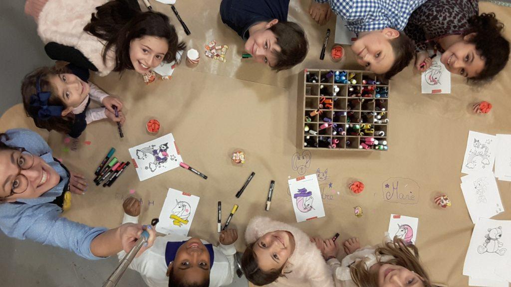 Les Ateliers Créatifs de Sarah Gyver Gaouaoui Zôdio La Rochelle activités enfants