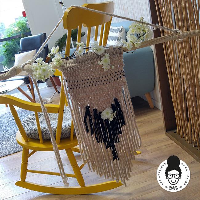 Les Ateliers Créatifs de Sarah Gyver Gaouaoui Zôdio La Rochelle atelier tissage diy
