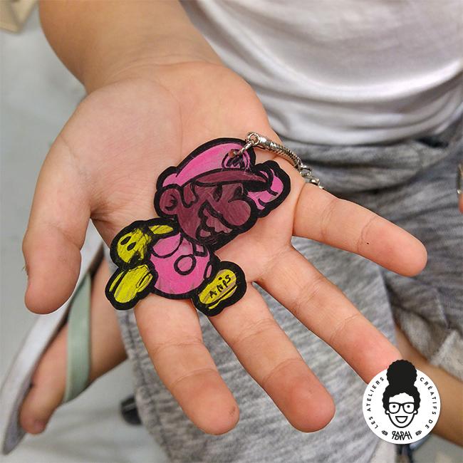 Les Ateliers Créatifs de Sarah Gyver Gaouaoui Zôdio La Rochelle activité plastique fou DIY enfants