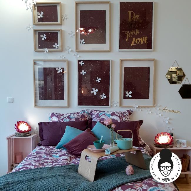 Les ateliers créatifs de Sarah Gyver Gaouaoui décoration maison Zôdio La Rochelle