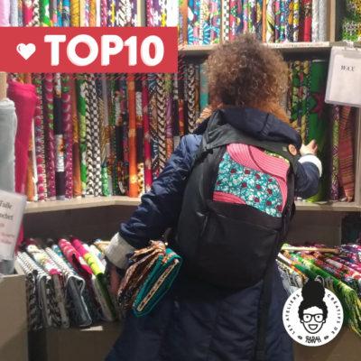 TOP 10 – Où trouver du tissu Wax à Paris !