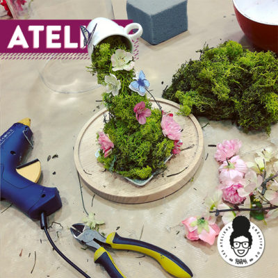ATELIER – «Tasse en lévitation»