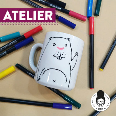 ATELIER – « customisation de mug »
