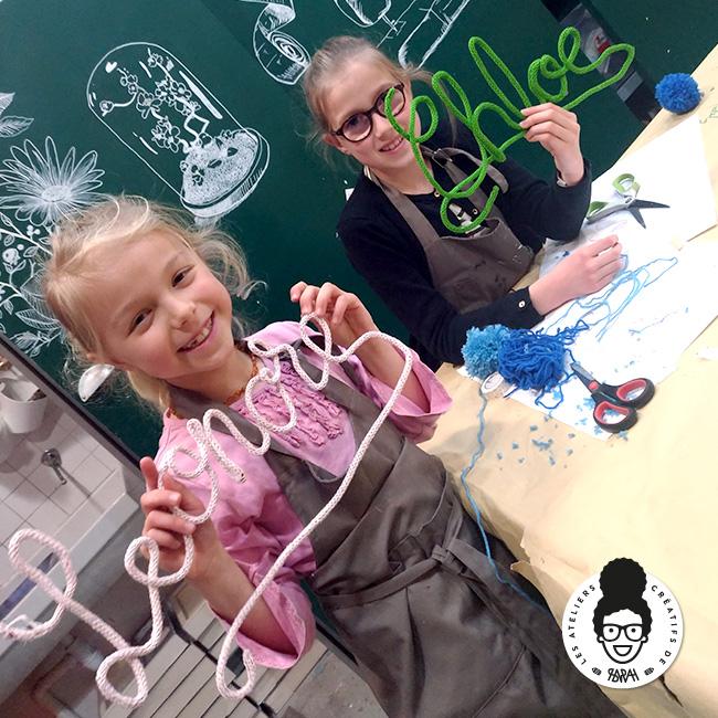 Les Ateliers Créatifs de Sarah Gyver Gaouaoui Zôdio La Rochelle atelier tricotin diy
