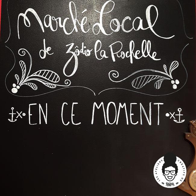Les Ateliers Créatifs de Sarah Gyver Gaouaoui Zôdio La Rochelle marché local