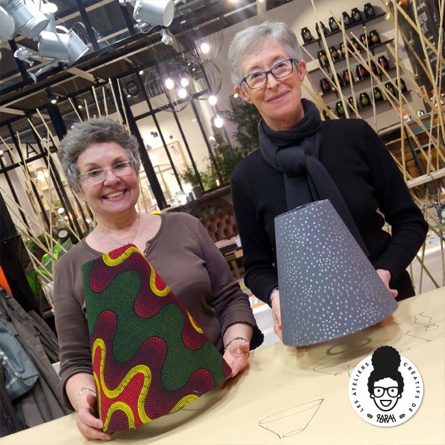 Les Ateliers Créatifs de Sarah Gyver Gaouaoui Zôdio La Rochelle atelier luminaire diy