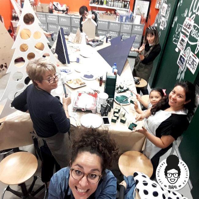 Les Ateliers Créatifs de Sarah Gyver Gaouaoui Zôdio La Rochelle atelier deco noël diy