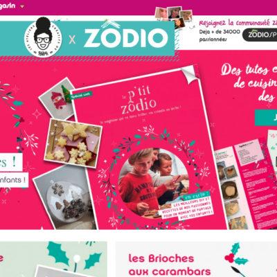 Web Magazine de Noël 2017 – «Le P'tit Zôdio»