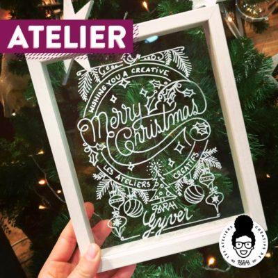 Atelier Noël 🎅 – «Des voeux DIY comme j'le veux !!!»