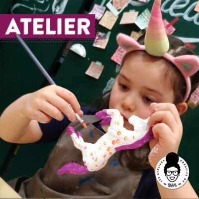 ATELIER – « customise un petit animal en papier mâché »